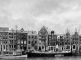 Aluminium Dibond 110×40. 'Kromme Waal Amsterdam' van Don Fonzarelli