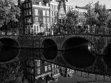 Aluminium Dibond 100×100. 'Keizergracht Amsterdam' van Tom Elst